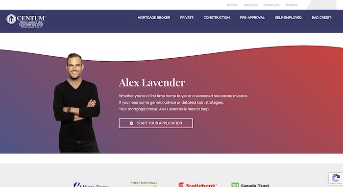 Alex Lavender Mortgage Broker